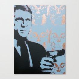 Classic Hollywood Leading Man by MrMAHAFFEY Canvas Print