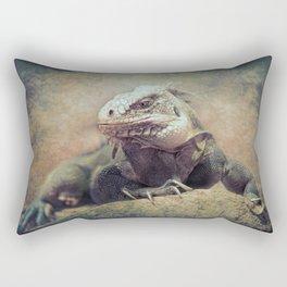 Big bad Lizard! Rectangular Pillow