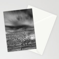 Rural Beauty. Almond fields Stationery Cards