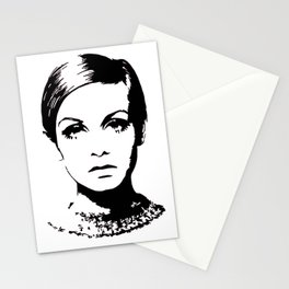 Twiggy Style Modern At Stationery Cards