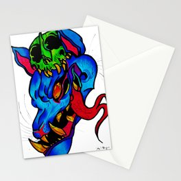 what big teeth you have Stationery Cards