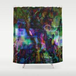 Agfa Mess Shower Curtain