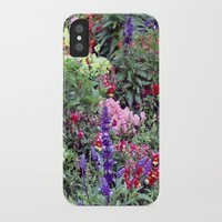 sweden iPhone & iPod Cases featuring Sweden Flowers by Cynthia del Rio