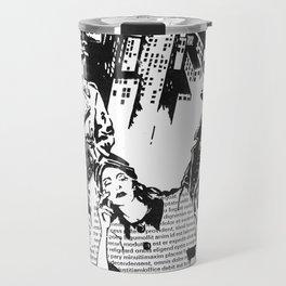 """Film Noir"" - by Fanitsa Petrou Travel Mug"