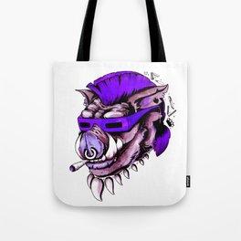 Beebop Don't Stop Tote Bag