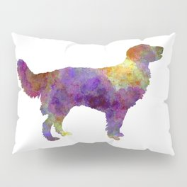 Drentsche Partridge Dog in watercolor Pillow Sham