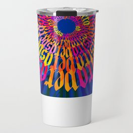 Ad Astra per Aspera Mandala Travel Mug
