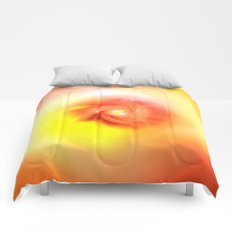 Orange Bliss Comforters