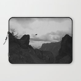 Raven in Flight Laptop Sleeve