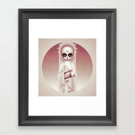 Wonderlost - Duchess Framed Art Print