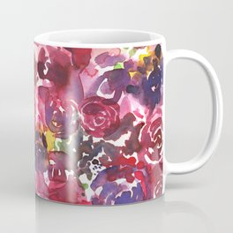 Muddled Roses Coffee Mug