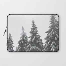 Frozen Spruces Laptop Sleeve