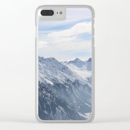 Wunderfull Snow Mountain(s) 2 Clear iPhone Case