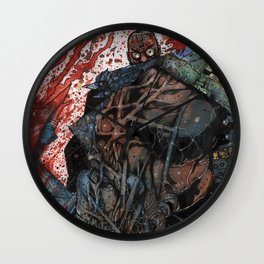 INTO THE PIT - Stefano Cardoselli  Wall Clock