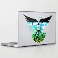 dream catcher Laptop & iPad Skins featuring Dream Catcher by Enkel Dika