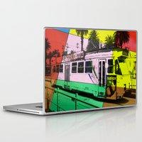 melbourne Laptop & iPad Skins featuring Melbourne Tram by Jan Neil Oz Images