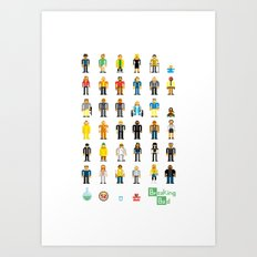 Breaking Bit Art Print