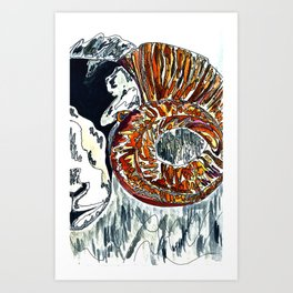 Its not Ewe Art Print