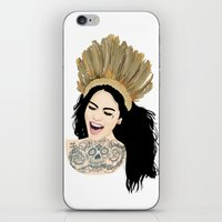 india iPhone & iPod Skins featuring India by ElodieD