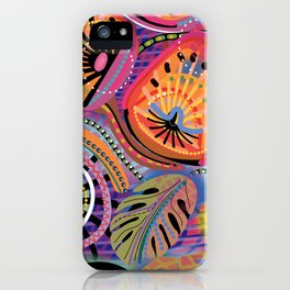Biology of Bliss iPhone Case