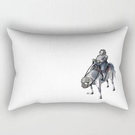 Numero 4 -Cosi che cavalcano Cose - Things that ride Things- Rectangular Pillow