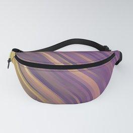 stripes wave pattern 1 lsp Fanny Pack