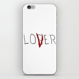lo(v)er iPhone Skin