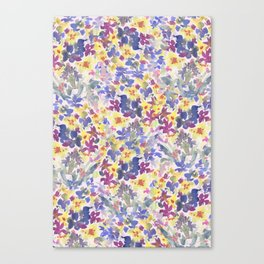 Lovely Little Wildflowers Canvas Print