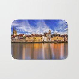 Panoramic Regensburg | Germany Bath Mat