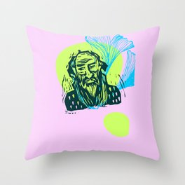Mr. Dostoevsky Throw Pillow