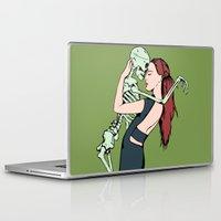 carpe diem Laptop & iPad Skins featuring Carpe Diem by Angelus