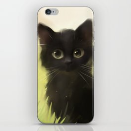 Savage Cat iPhone Skin