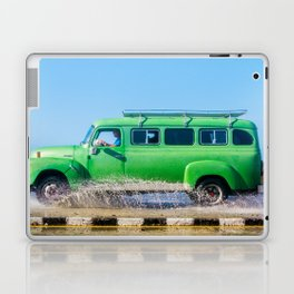 Waves and Classic Cars of the Malecón - 6 Laptop & iPad Skin