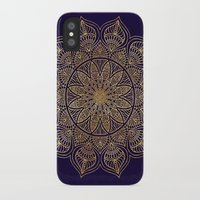 islam iPhone & iPod Cases featuring Gold Mandala by Mantra Mandala