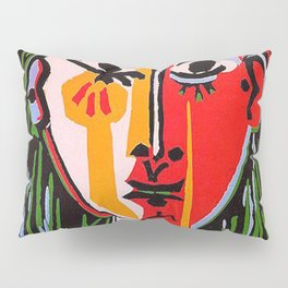 Head of a woman in a Hat Picasso Pillow Sham