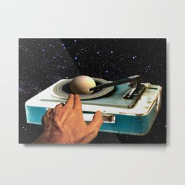 The DJ's Guide to the Galaxy Metal Print