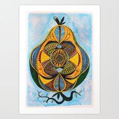 strange fruit Art Print