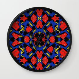 TWISTIES AND SHAPES Wall Clock