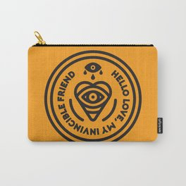 Hello Love Carry-All Pouch