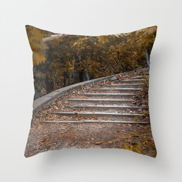 Royal steps Throw Pillow
