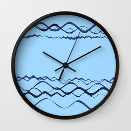 1380249359 in blue Wall Clock