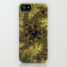 Fractal Triskele iPhone Case