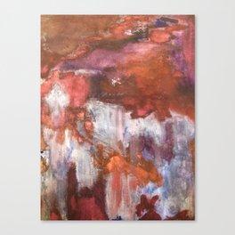 Rustic Random Color Canvas Print