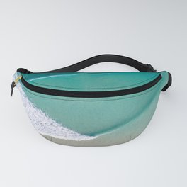 Waves in Sheets Fanny Pack