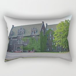 Old West End Mary Manse College Auditorium aka Lois Nelson Theater II Rectangular Pillow