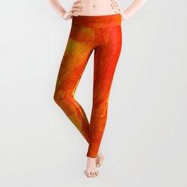 Microcosmos Rojo Leggings