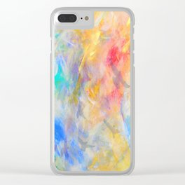 gold sky paradise Clear iPhone Case