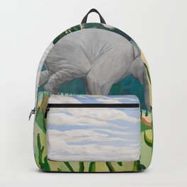 BORN ON THE WETLANDS Backpack