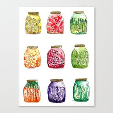 Getting Canned Never Looked So Good Canvas Print
