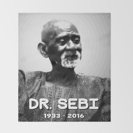 Dr. Sebi Throw Blanket